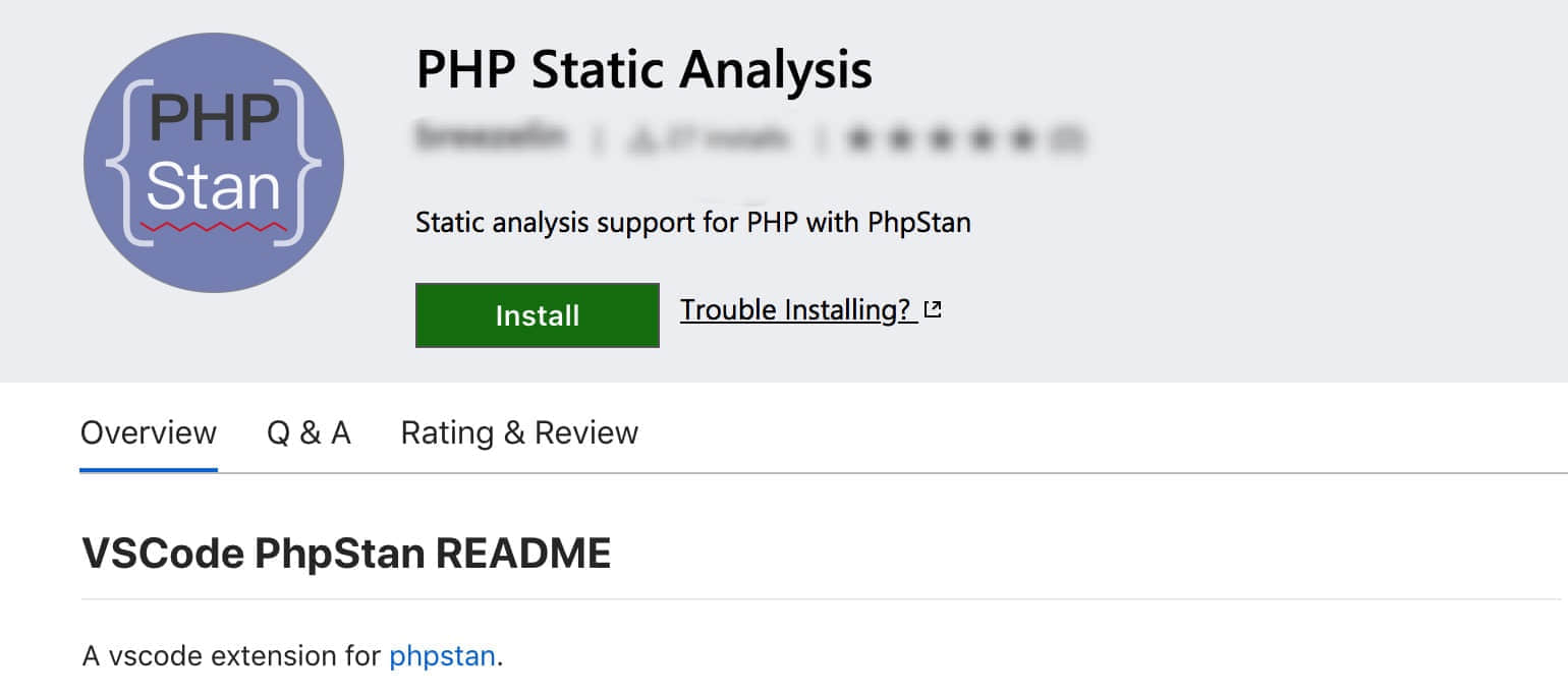 PHP Static Analysis